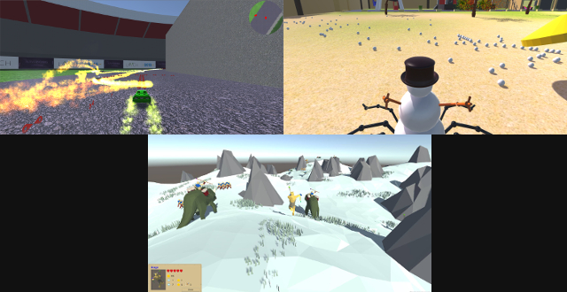SummerGameJam 2015 Collage