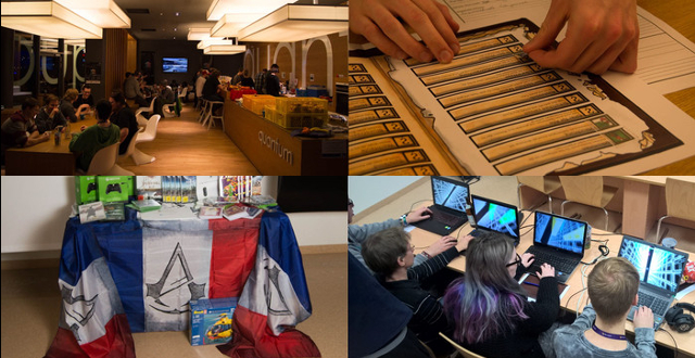 WinterSemesterGameJam 2015 Collage