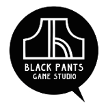 Black Pants Logo